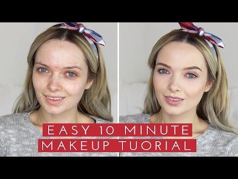 Easy 10 Minute Makeup // MyPaleSkin