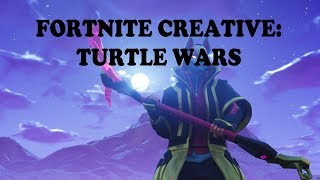 Fortnite Creative: Turtle Wars Map! (Code + Gameplay)