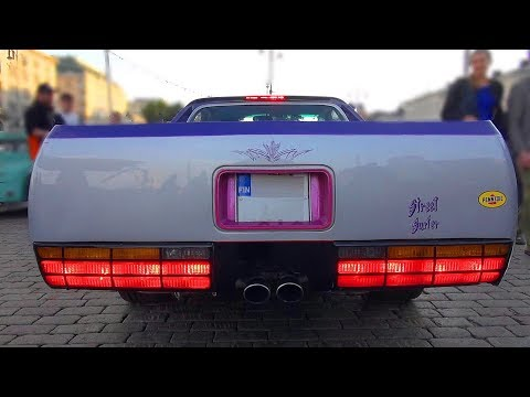American Muscle Car Overload!! - Helsinki Cruising Night 7/2018