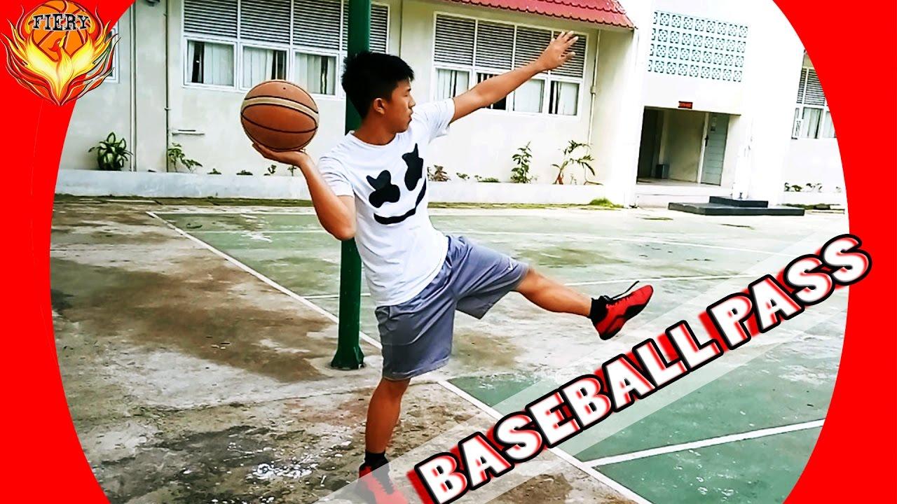Tips Bagaimana Cara Melakukan Baseball Pass Dalam Permainan Bola Basket Youtube