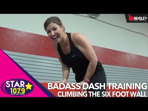 BADASS Dash Training with Aimee: How to climb the six foot wall
