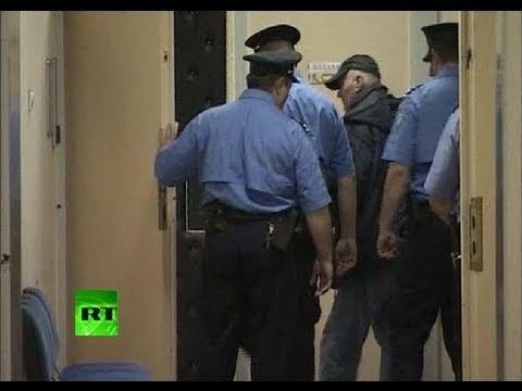 Video of Ratko Mladic entering Serbia court, views of arrest village