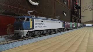 【鉄道模型】HOゲージ EF200連結シーンから走行まで