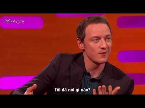 [Vietsub] James McAvoy, Daniel Radcliffe - Làm người tử tế - The Graham Norton Show S18E09