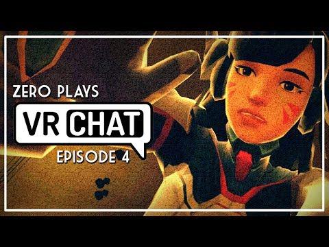Zero Plays: [ VRChat ] - Ep 4 - GIANT D.VA HEADPATS (My Virtual Reality Adventure)