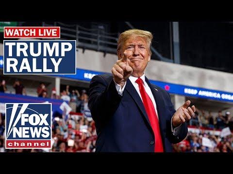 Trump holds 'Keep America Great' rally in Louisiana