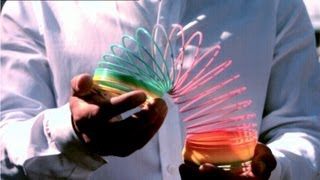 How Does A Slinky Fall?