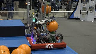 Space cookies, robots, and more: High schoolers show off innovation at robotics competition