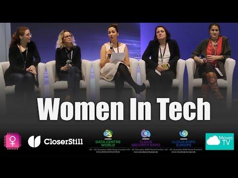 Women in Technology – Cloud Expo Frankfurt 2016