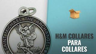 10 Mejores Ventas De H&M: Saint Michael Medal 13/16 Inch Sterling Silver Protect Us Pendant