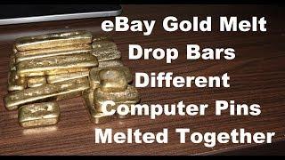 Gold Drop Melt Bars eBay Different Computer Pins