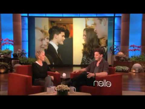 Jeremy Irvine on The Ellen   January 18th 2011