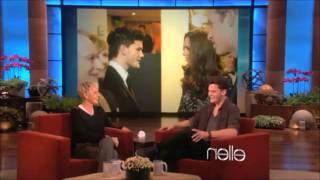 Jeremy Irvine on The Ellen Show - January 18th 2011