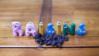 Learn To Spell With Barbapapa Alphabet Letters - Alphabet des Barbapapa  - Fruits and Vegetables