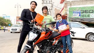 Sourav joshi vlogs gifted me new bike??😜