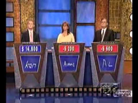 Ken Jennings - Jeopardy Thug Life