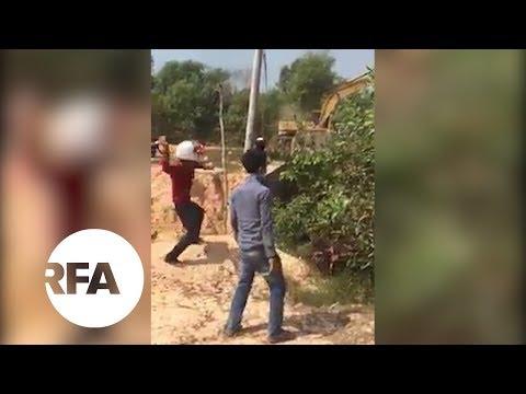 Police, Land Protesters Clash in Cambodia | Radio Free Asia (RFA)