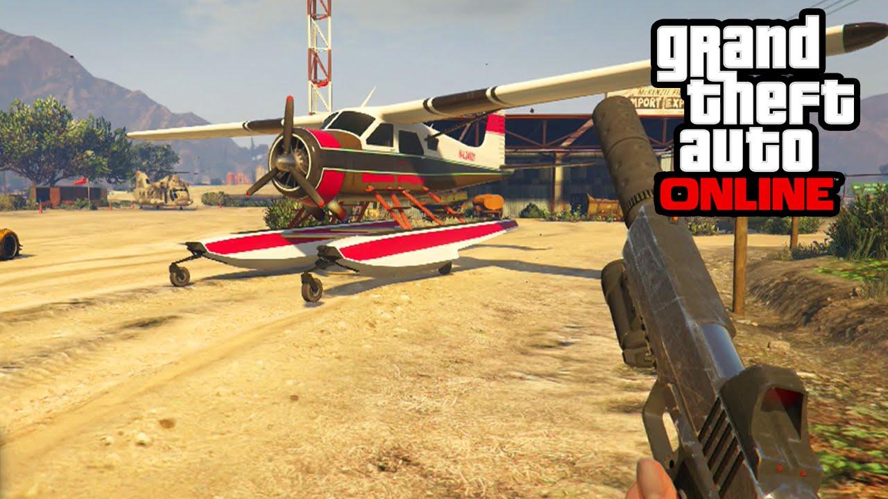 GTA 5 Online - How To Get Dodo Seaplane - Secret Tips ...