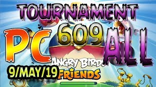 Angry Birds Friends All Levels PC Tournament 609 Highscore POWER UP Walkthrough AngryBirds