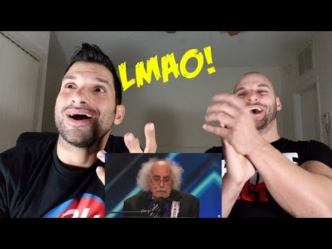 Ray Jessel: 84-Year-Old Sings a Naughty Song - America's Got Talent [REACTION]