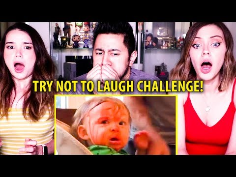 TRY NOT TO LAUGH CHALLENGE: FUNNY KIDS FAILS VINES COMPILATION | Reaction!