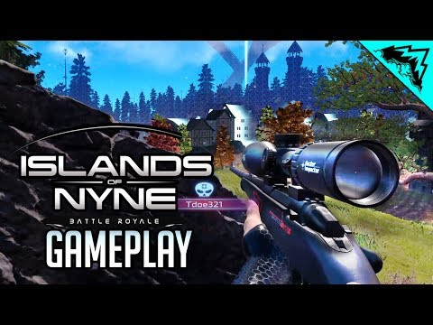 Islands of Nyne: Battle Royale GAMEPLAY Reveal - First Look & Sneak Peak (IoN Gameplay)