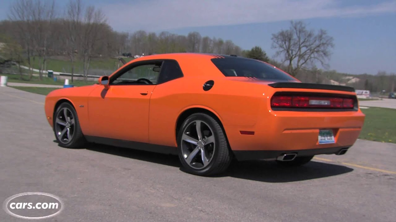2014 Dodge Challenger RT Shaker Exhaust Note  YouTube