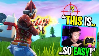 I tried playing CONTROLLER fortnite for the first time ever... (im a bot, but im also insane)