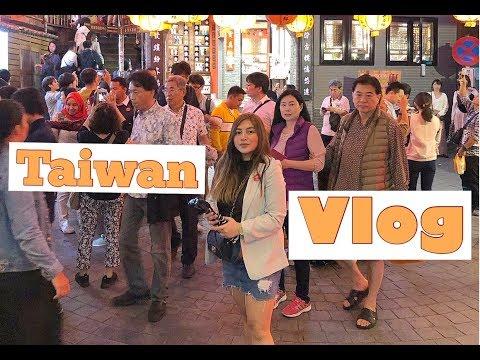 Taiwan travel Vlog Day 1