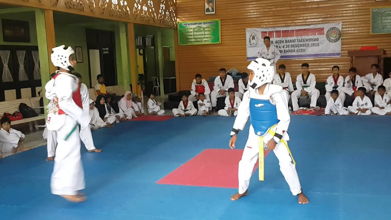 taekwondo kodim banda aceh lat bersama barat afrizal rahman