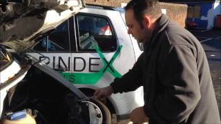 How to fit and install a headlamp to a VW T4 Transporter