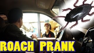 DRIVE THRU ROACH PRANK!