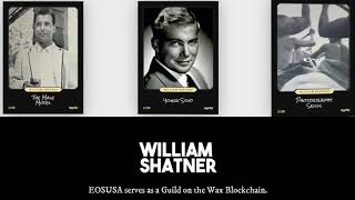 William Shatner's Digital Trading Card Available on WAX