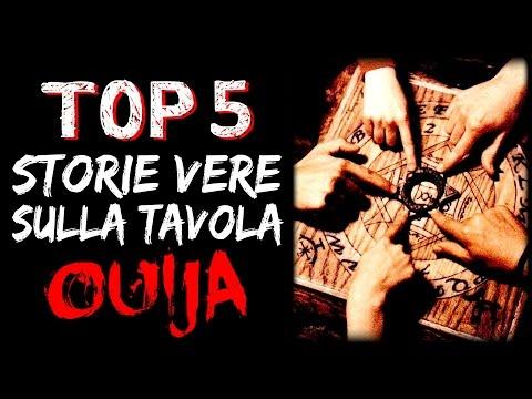 5 STORIE VERE e INQUIETANTI sulla TAVOLA OUIJA - CREEPY TRUE STORIES #01