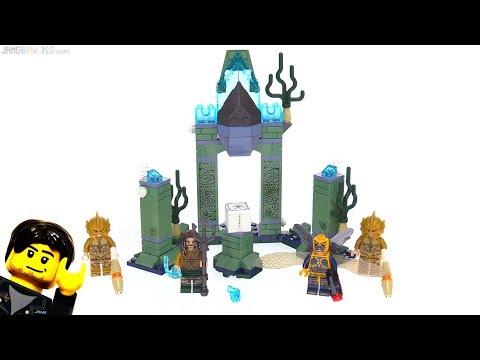 LEGO Justice League Battle of Atlantis review feat. Aquaman - set 76085