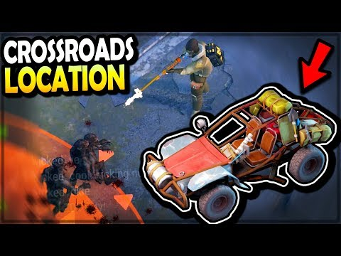 Driving The *NEW* BUGGY VEHICLE (New Crossroads Location) - Last Day On Earth Survival
