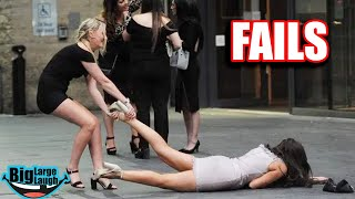 😂 DRUNK GIRLS FAIL DOWN 😂 Fails March 2020   Funny Videos Compilation
