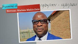 Funeral of Norman Madala Makhubele