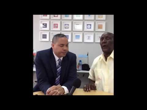 Héctor Gómez de Z Deportes habla con Rico Carty