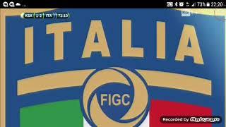 Arabia Saudita - Italia 1-2 - Gol