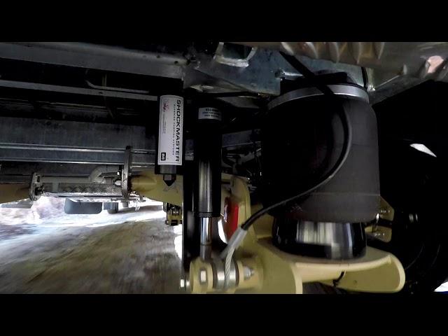 Cruisemaster ATX air bag caravan suspension in action