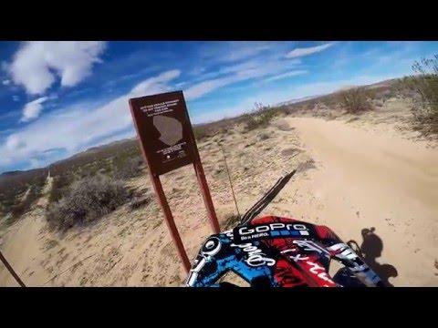 Exploring Edwards, CA OHV on a Dirt Bike Part II