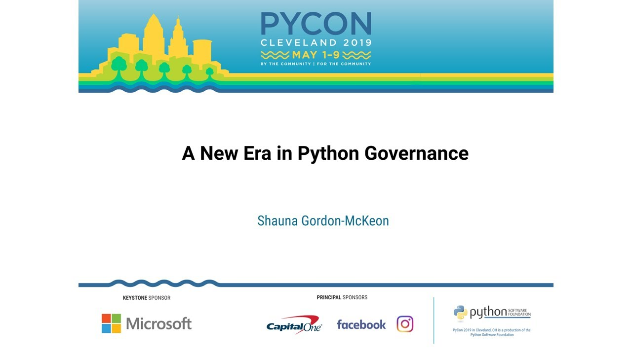 Image from A New Era in Python Governance
