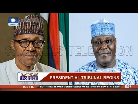 Presidential Election: Court Begins Hearing Of Case By Atiku Against Buhari |Lunchtime Politics|