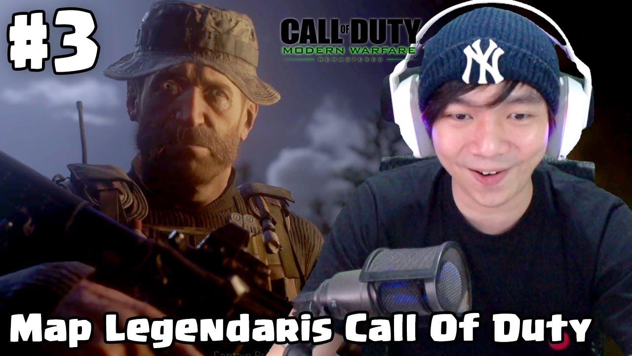 Map Legendaris - Call Of Duty Modern Warfare Remastered - Indonesia Part 3