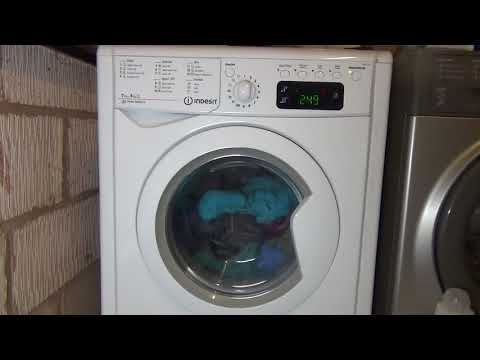 Indesit Advance IWDE7145 7kg wash/5kg dry Washer Dryer : Cotton Standard 60'c (Full cycle)