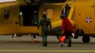 Sarda Wales Search And Rescue Dog Heli Training