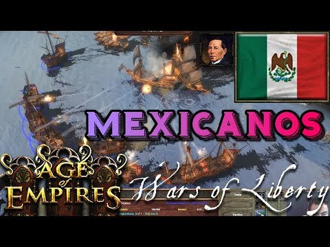 Mexicanos en Van Diemen's Land Age of Empires III Wars of Liberty Online