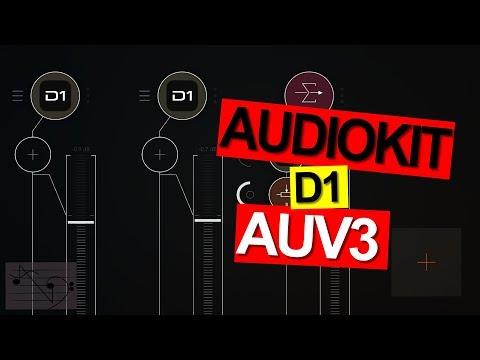 AudioKit Pro | Digital D1 AUv3 (Out Now) 2 Instance Sound Test