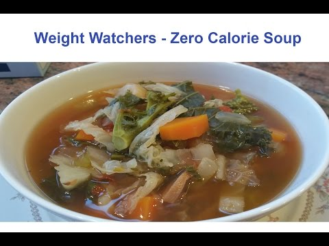 Weight Watchers - Zero Point Soup Recipe
